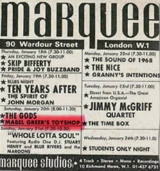 The Marquee Club Agreement