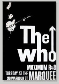 The Who Maximum R&B poster
