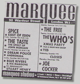 Melody Maker ad